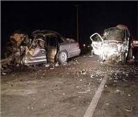 بالأسماء.. إصابة 7 أشخاص إثر حادث تصادم سيارتين بأسوان
