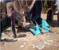 حملة لرفع الإشغالات والمخلفات من شوارع المحلة