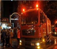 الدفع بـ3 سيارت إطفاء للسيطرة على حريق منزلين في المنيب