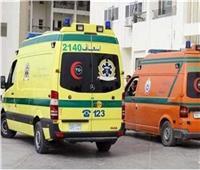إصابة 7 أشخاص من أسرة واحدة في انقلاب سيارة ملاكي بصحراوي البحيرة