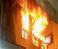 إصابة 4 من أسرة واحدة في حريق هائل بني سويف