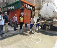 محافظ الشرقية يقرر سحب تجمعات مياه الصرف لتسيير حركة المواطنين والسيارات