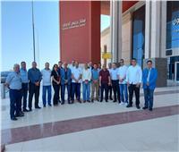 وفد من مصر للطيران يتفقد مطار برنيس الدولي استعدادًا للتشغيل المنتظم