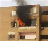السيطرة على حريق شب داخل شقة سكنية بمنطقة حلوان