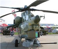 الهليكوبتر الروسية تقدم مجموعة طائرات عمودية عسكرية في منتدى«الجيش 2021»