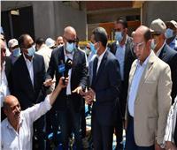 وزير الإسكان ومحافظ الغربية يتابعان أعمال مبادرة «حياة كريمة» بزفتي