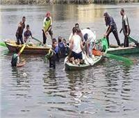 انتشال جثة عامل غرق في مياه البحر الصغير بمنية النصر بالدقهلية