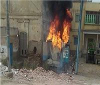 الحماية المدنية تسيطر على حريق بمحول كهرباء بإدفو