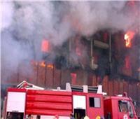 السيطرة على حريق داخل مصنع بمنطقة بدر