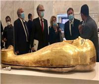 متحف الحضارة يستقبل وزير خارجية صربيا   صور