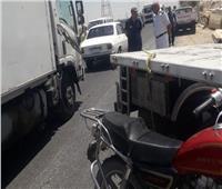 إصابة 7 أشخاص في حادث انقلاب سيارة بطريق الكريمات