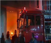 السيطرة على حريق بحديقة أحد مستشفيات الصحة النفسية بحلوان