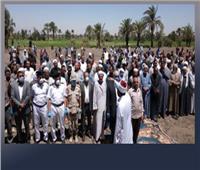 أهالى القرى يطالبون بلجان لإستلام الطرق المرصوفة بالفيوم