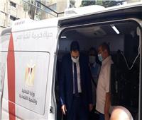 نائب محافظ القاهرة يتابع سير عمل الحي المتنقل بالزيتون