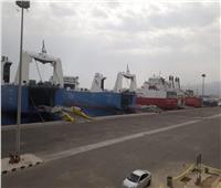 تداول 64 ألف طن بضائع عامة ومتنوعة البحر الأحمر