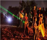 «الليزر» وسيلة أهالي قرية «بيتا» الفلسطينية في مواجهة الاستيطان