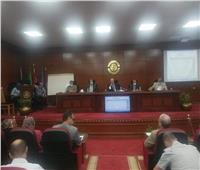 رئيس كهرباء جنوب الدلتا يجتمع برؤساء قطاعي المنوفية والقليوبية لمتابعة التحصيل