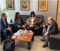 مدير مكتبة الإسكندرية يستقبل وفد هيئة التعاون الدولي اليابانية