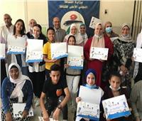 القومي لثقافة الطفل يحتفل بتوقيع كتاب «النعامة والأسد»