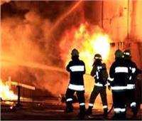 اشتعال النيران داخل مطعم شهير بوسط البلد
