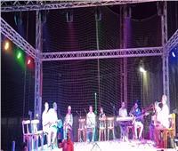 انطلاق ثاني ليالي المسرح المتنقل بقرية الأحراز في القليوبية