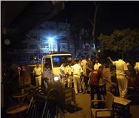 شرطة المرافق تشن حملاتلإزالة الإشغالات بأحياء الإسكندرية