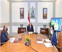 السيسي: برنامج الإصلاح الاقتصادي جنب مصر الكثير من التبعات السلبية للجائحة