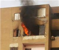 إخماد حريق نشب داخل شقة بأكتوبر