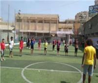 «شباب القليوبية» يواصل مشروع تنشيط الرياضة بالأحياء السكنية