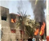 السيطرة على حريق في 3 «أحواش» بقنا