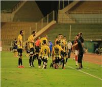 المقاولون العرب يتعادل مع الاتحاد السكندري 1-1 في الشوط الأول