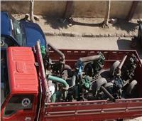 سقوط عصابة سرقة ماكينات الري في الشرقية