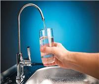 إصلاح العطل المفاجئ بخط المياه بالقناطر الخيرية