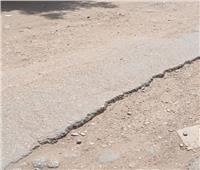 أهالي طنطا يطالبون برصف طريق شوني