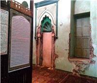 رغم أثريته  أقدم مساجد الغربية معرض للإنهيار علي رؤوس المصلين.. صور