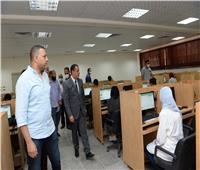 «أسيوط» تواصل إختبارات القدرات الإلكترونية للطلاب للالتحاق بالجامعات الأهلية