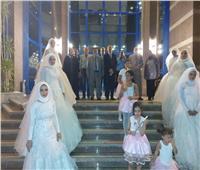 زفاف 7 فتيات في القاهرة ضمن مبادرة «حياة كريمة»