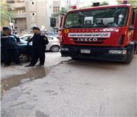 اخماد حريق بشقة سكنية بالدقي دون إصابات