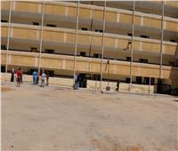 افتتاح مقر جديد لإدارة شئون الطلبة بمدرسة الشهيد جواد حسني بالمنصورة
