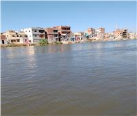 رفع درجة الاستعداد تحسبا لارتفاع منسوب المياه بأراضي طرح النهر بالبحيرة