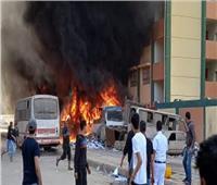 السيطرة على حريق بشقة سكنية في شبرا الخيمة