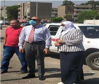 نائب محافظ القاهرة يتابع توسعة شارع الشركات بمدينة نصر
