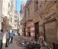 إزالة ٣ عقارات بحي ثان المحلة الكبرى لخطرها الداهم