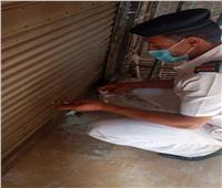 الجيزة: غلق وتشميع ٦ محلات غير مرخصة بحي جنوب الجيزة