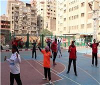 صور| مصر تطلق برنامج الريشة الطائرة في الهواء بالأولمبياد الخاص