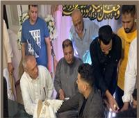 إمام عاشور يحتفل بعقد قرانه ..صور