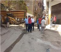 تطوير شوارع ومناطق «حي غرب» في أسيوط
