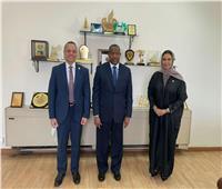 اجتماع تنسيقي بين الجامعة العربية والبرلمان العربي لبحث إنشاء مركز للأمن الغذائي