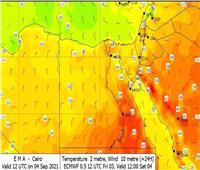 «الأرصاد»: انخفاض درجات الحرارة لمدة أسبوع وتعاود الارتفاع مرة أخرى