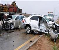 مصرع وإصابة ١٠ أشخاص في حادثي طرق بالشرقية